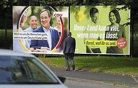 Kandidatai į Vokietijos kanclerius susitiks pirmuose dideliuose televizijos debatuose