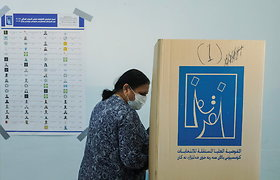 Irake prasidėjo pirmalaikiai parlamento rinkimai