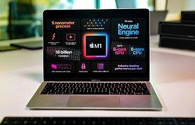 """Naujos eros pradžia: """"Mac"""" kompiuteriai su """"M1"""" lustu"""