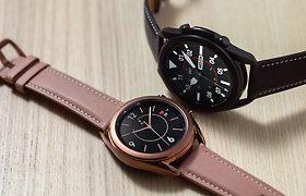 """""""Samsung"""" išmaniųjų laikrodžių savininkai jau gali atlikti elektrokardiogramą ir matuoti kraujo spaudimą: kaip viskas veikia?"""