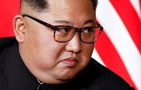 """Šiaurės Korėjos lyderis: JAV yra """"pagrindinė nestabilumo priežastis"""""""