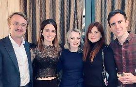 """""""Hario Poterio"""" aktorių susitikimas įaudrino franšizės gerbėjus – prašo susiburti dar vienam filmui"""