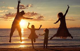Klaipėdiečių šeimos stebuklas: ūgtelėjus įvaikintai dukrai, susilaukė sūnaus