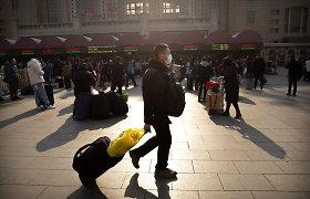 Kinijoje prasidėjo didžiausia pasaulyje metinė žmonių migracija