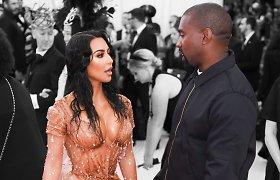 Įspūdingus turtus K.Kardashian ir K.Westas ketina dalytis po lygiai tik su viena sąlyga