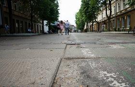 Prireiks kantrybės: darbų įkarščiui ruošiasi likusi Kauno Vilniaus gatvės dalis