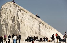 Iš kur Egipte snieguoti kalnai?