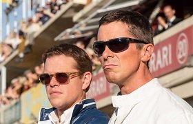 Mattas Damonas ir Christianas Bale'as pristato tikrą konkurencijos ir draugystės istoriją