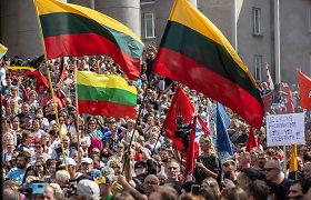 """""""Darbiečiams"""" sukritikavo Vilniaus savivaldybę dėl neišduoto leidimo rugsėjo 10-osios mitingui"""