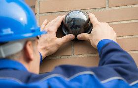 Ieškantiems namų apsaugos kameros: į ką būtina atkreipti dėmesį