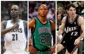 Testas nuo A iki Z: ar pažinsite šias NBA legendas?