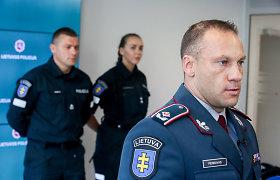 L.Pernavas didžiuojasi mažėjančiu nusikalstamumu, nors policijos skaičiai – toli nuo realybės