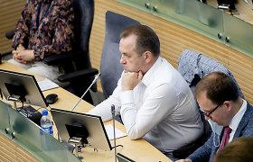 Darbo partijos frakcija ministrui siūlo pagalvoti kitų būdų apmokestinti taršą