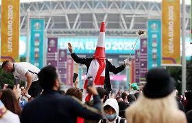 """Policijos atsakas į rasizmo bangą po """"Euro 2020"""" finalo: sulaikyti keturi asmenys"""