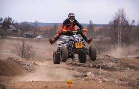 """Sekmadienį Uoginių autosporto komplekse – aštuntasis """"Cross Country"""" etapas"""