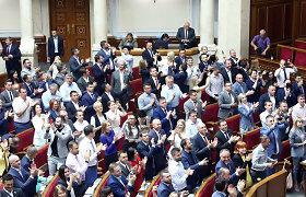 Ukrainos parlamentas priėmė įstatymą dėl prezidento apkaltos