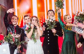 """""""Žvaigždžių duetuose"""" pergalę iškovojo Liepa Norkevičienė ir Simonas Storpirštis"""