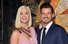 Katy Perry ir Orlando Bloomas džiaugiasi šeimą aplankiusiais gandrais: dainininkė pagimdė dukrą