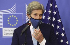 J.Kerry: JAV kovodamos su klimato kaita imsis ryžtingų veiksmų