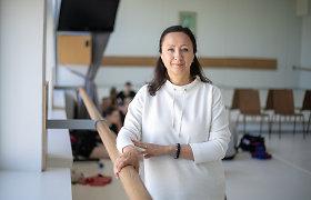 """Baleto mokytoja K.Kanišauskaitė-Navickienė: """"Tobulėti iki paskutinio šokio"""""""