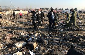 Kijevas: Ukrainai suteikta prieiga prie Irane sudužusio lėktuvo savirašių