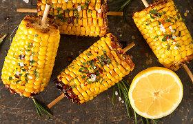 Veganiška, sveika ir greita: kukurūzų burbuoles kepsninėje skrudina Dalia, neatsivalgo – visa šeima