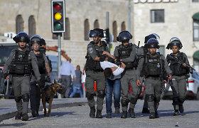 Jeruzalėje palestiniečiai susirėmė su Izraelio policija, sulaikyta per 20 žmonių