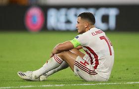"""Per šventinius fejerverkus """"Galatasaray"""" žaidėjas susižeidė veidą ir akis"""