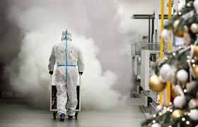 Žiniasklaida: kauniečių sugalvota dezinfekavimo priemone domisi užsienio klientai