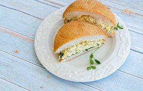 Sumuštinio įdaras – soti mišrainė: ruošiame iš kiaušinių arba konservuoto tuno
