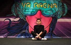 Lietuvis kuria virtualios realybės arenas: pradėjo Lietuvoje, dabar plečiasi į užsienį