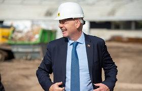 """FIFA prezidentas G.Infantino įvertino Kaune kylantį stadioną: """"Čia bus viskas, ko reikia pergalėms"""""""