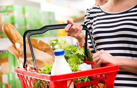Pigiausių maisto produktų krepšelis gegužę pigo
