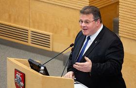 L.Linkevičius: Ukrainos prezidento rinkimai rodo nusivylimą kova su oligarchais