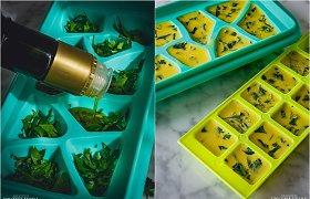 Andalūzijos virtuvė: šaldyti prieskoninių žolelių kubeliai visiškai nauju būdu