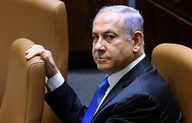 """Dvylika Izraelio metų su B.Netanyahu: vadintas ir """"Ponu Saugumu"""", ir nusikaltėliu"""