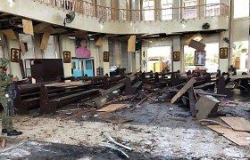 Indonezijos policija nušovė du kovotojus, siejamus su sprogdinimais Filipinų bažnyčioje