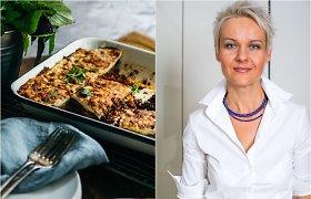 Nidos receptas: vegetariškas baklažanų apkepas musaka