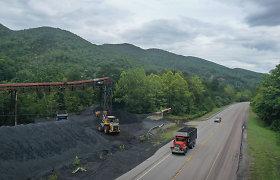 Užvertos anglių kasyklų durys pranašauja sunkius laikus svarbiam JAV anglių regionui