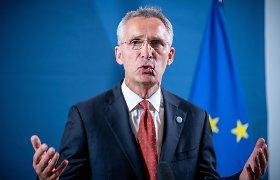 J.Stoltenbergas: NATO narėms reikalinga tvirtesnė politika Kinijos atžvilgiu