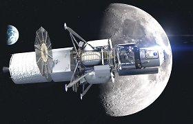 """""""Blue Origin"""" padavė į teismą JAV vyriausybę dėl sprendimo sudaryti sutartį su """"SpaceX"""""""