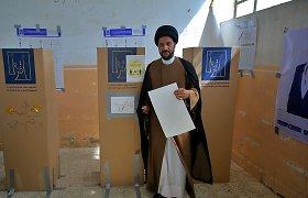 Pirmalaikius parlamento rinkimus Irake temdė menkas rinkėjų aktyvumas