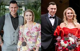 Maljorkoje dar kartą susituokė Natalija Bunkė: šįkart – su balta suknele