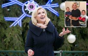 Laimos Kybartienės Kalėdų tradicijos: talentingų anūkų programa ir jos firminis jautienos kepsnys