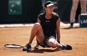Ana Ivanovič iškrito iš geriausių pasaulio tenisininkių dešimtuko
