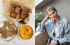 Greiti, sveiki ir skanūs užkandžiai: tinklaraštininkės idėjos ir receptai