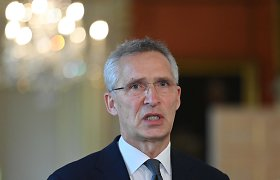 J.Stoltenbergas: NATO yra vieninga dėl Baltarusijos
