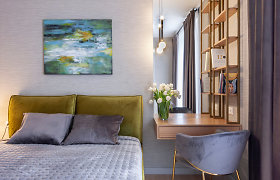 """Apartamentai simpatizuojantiems """"mid century modern"""" stilistikai"""