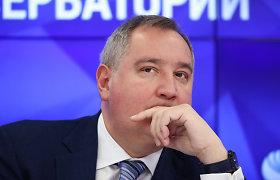 """""""Roskosmos"""" vadovas ragina Rusiją pradėti statyti naują kosminę stotį"""