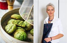 Nidos receptas: žalieji matcha arbatos sausainiai, papuošiantys ir Velykų stalą
